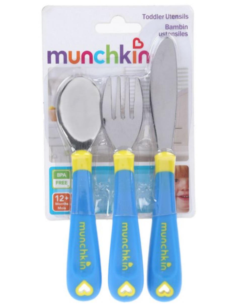 Munchkin set de cubiertos para ni os liverpool es parte de for Cubiertos para bebes